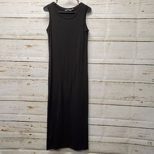 Athleta Black Knit Maxi Dress